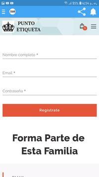 Punto Etiqueta Tienda Online screenshot 3