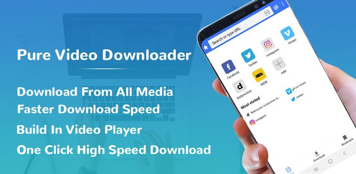 Pure All Video Downloader - Free Video downloader-poster