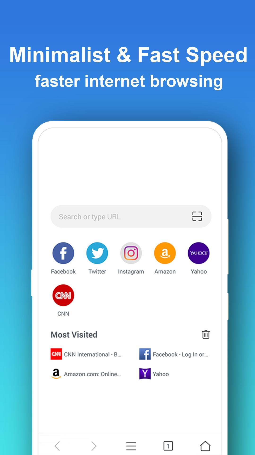 Pure Web Browser - Fast & Ad Blocker & Private for Android