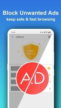 Pure Web Browser-Ad Blocker,Video Download,Private screenshot 2