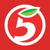 Пятёрочка иконка