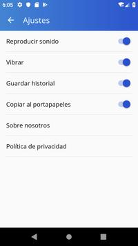 Reader and Generator of QR Codes and Bars screenshot 4