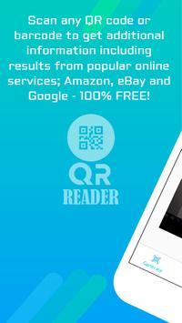 QR READER poster
