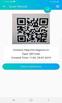 QR Code Reader - Scanner App screenshot 1