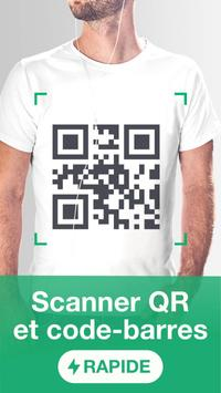 Lecteur et scanner de code QR - gratuit Affiche