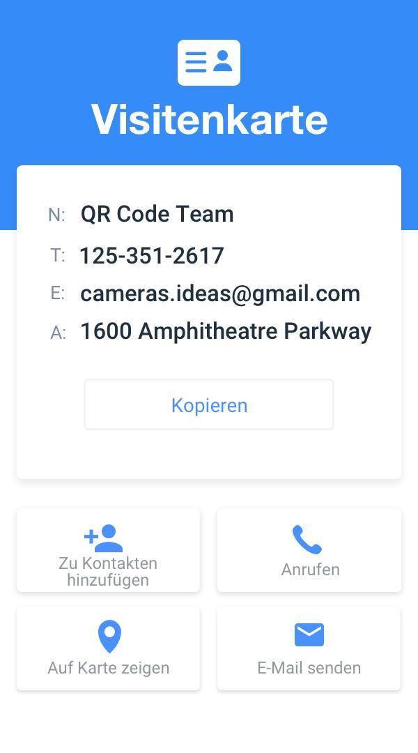 Qr Code Scanner Barcode Scanner Kostenlos Für Android