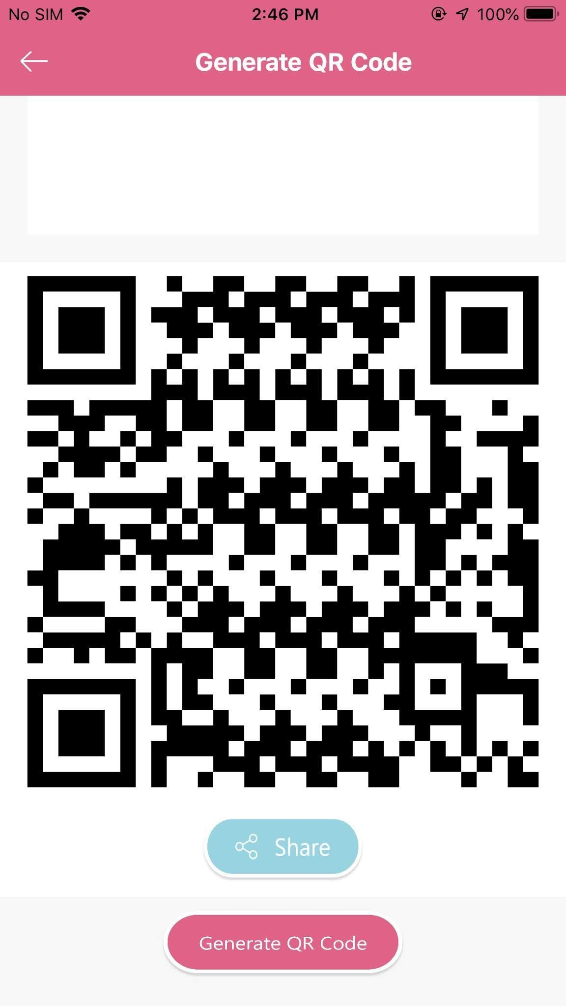 Qscan 🆓 QR Code Reader - Generate, Scan or Share for