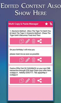 Clipboard Manager : Multi Copy Paste Clipboard screenshot 5