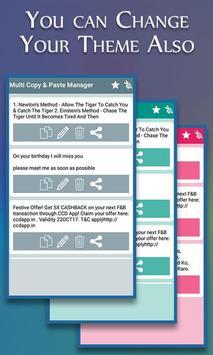 Clipboard Manager : Multi Copy Paste Clipboard screenshot 6