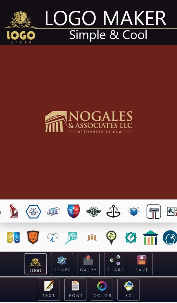 Logo Maker - Attorney/Law Logo Designs poster