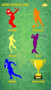 Super Sports Quiz screenshot 1