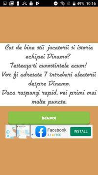 Dinamo Quiz screenshot 1