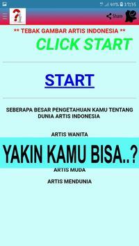 TEBAK GAMBAR ARTIS INDONESIA poster