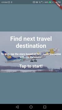 Travel Quiz poster