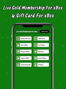 Live Gold Membership For xBox & Gift Card For xBox screenshot 2