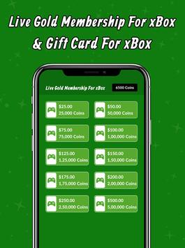 Live Gold Membership For xBox & Gift Card For xBox screenshot 3