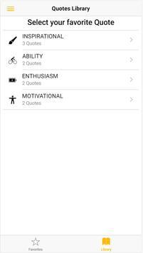 Quotes App Simple Test screenshot 1