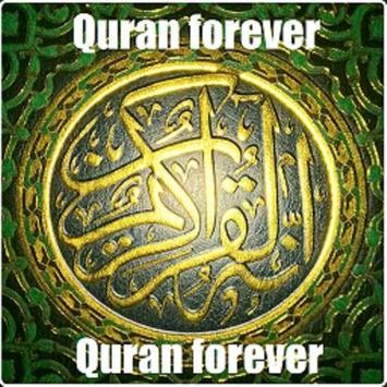 Quran forever poster