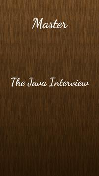 Master Java Interview poster