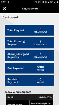 LogisticMart Corporate App screenshot 1