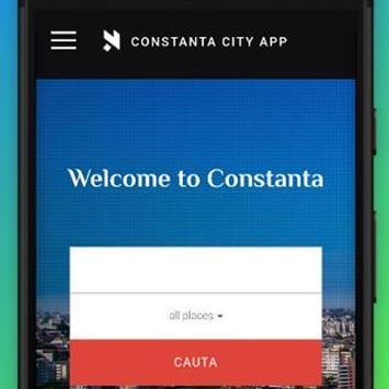 Constanta CiTy App poster