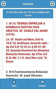 Calendar Greco-Catolic screenshot 1