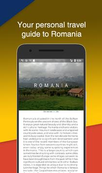 Visit Romania - Your Personal Travel Guide poster