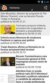 Stiri din Romania poster