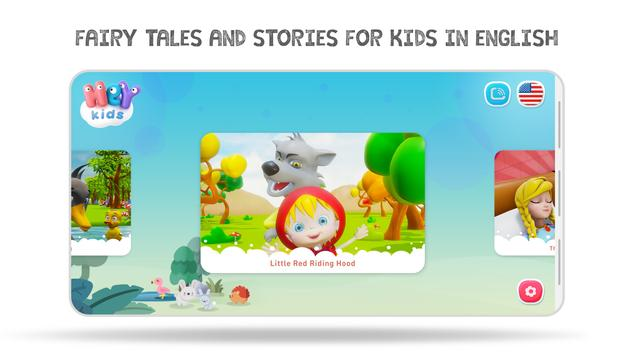 Bedtime Stories and Fairy Tales for Kids - HeyKids poster