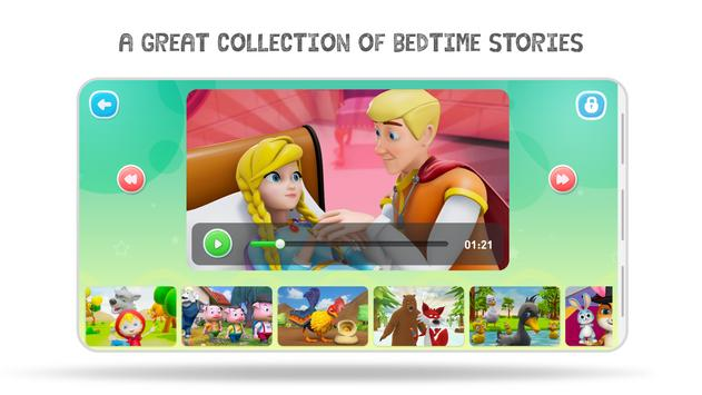 Bedtime Stories and Fairy Tales for Kids - HeyKids screenshot 3