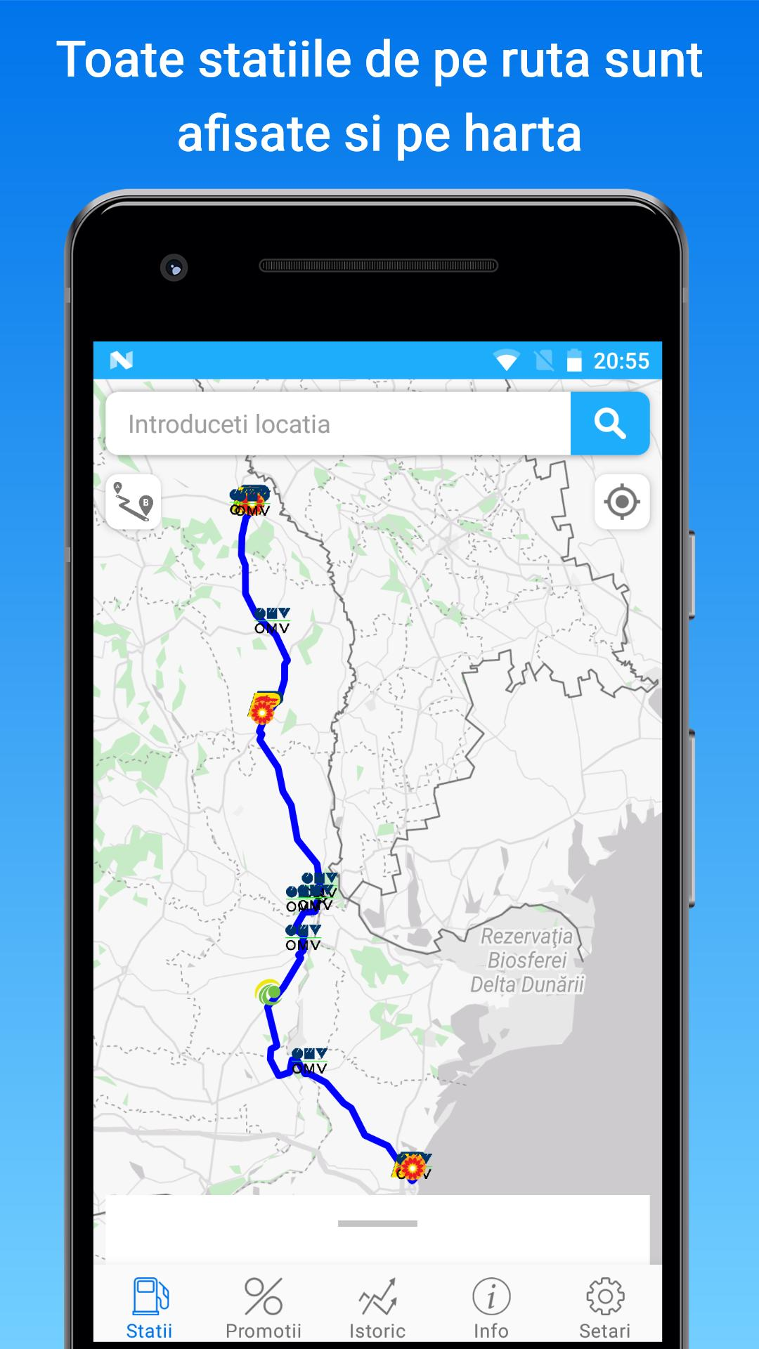 Gas Diesel Lpg And Adblue Prices In Romania For Android Apk
