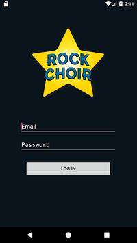 Rock Choir Leaders App poster