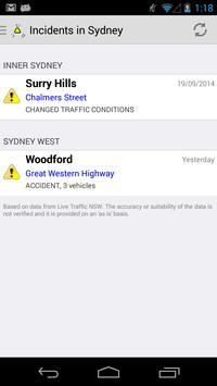 Traffic@NSW poster