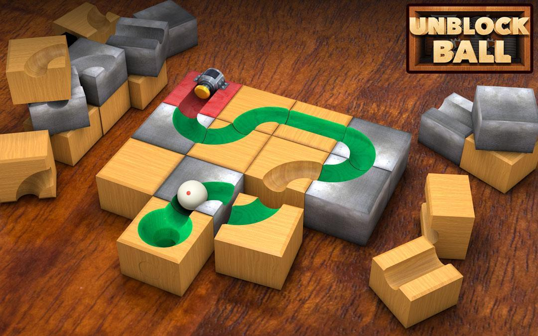 Unblock Ball - Block Puzzle poster