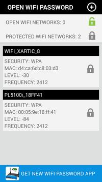 OPEN FREE WIFI PASSWORD screenshot 1