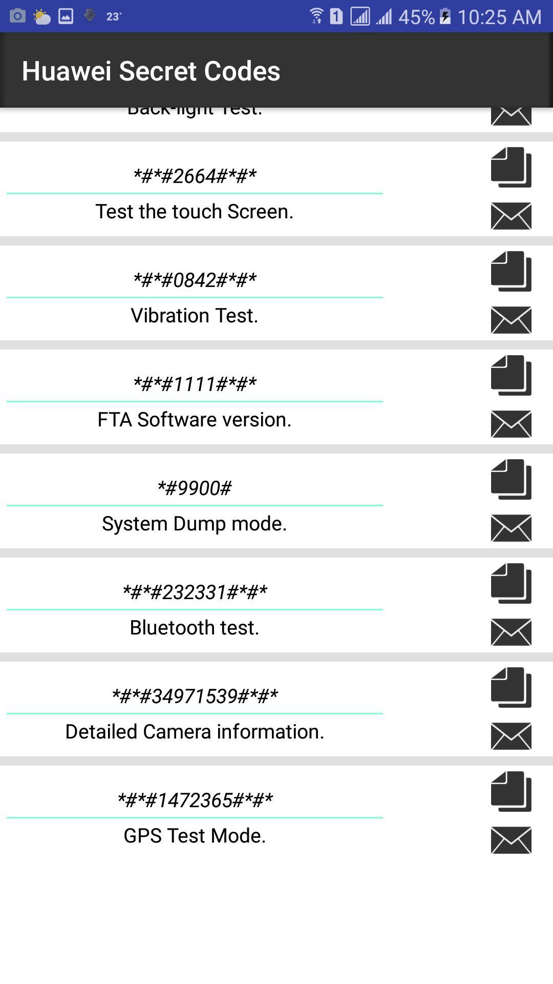 Secret Codes Of Huawei Dlya Android Skachat Apk