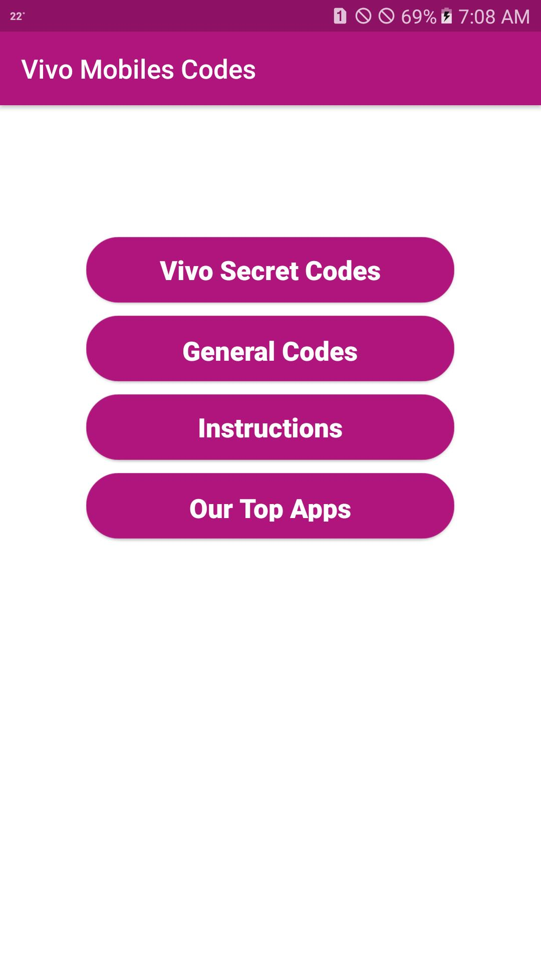 Secret Codes of Vivo Mobiles for Android - APK Download
