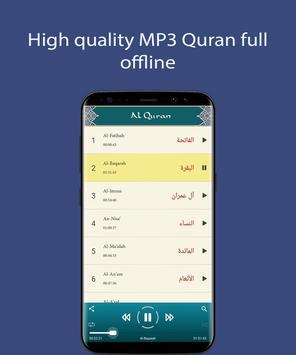 Maher Al Mueaqly - Full Offline Quran MP3 capture d'écran 4