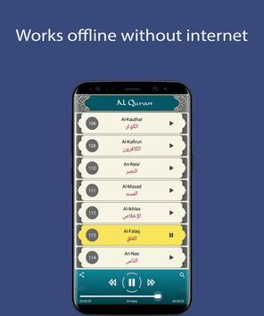 Mishary Rashid - Full Offline Quran MP3 captura de pantalla 1