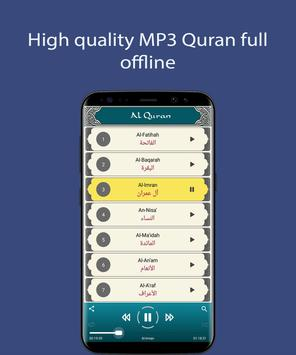 Quran MP3 Offline - Full Audio Quran Sharif poster