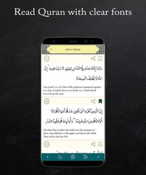 MP3 and Reading Quran offline with translations screenshot 3