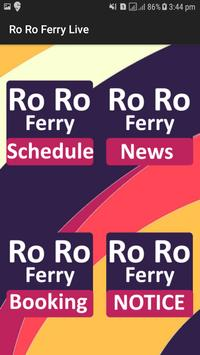 Ro Ro Ferry : Timing, News, Agents and Booking for Android