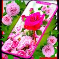 Pink Rose Live Wallpaper 🌹 Parallax 4K Wallpapers