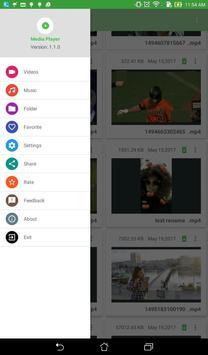 Media Player screenshot 1