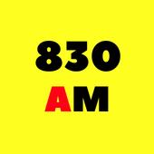 830 AM Radio stations online icon