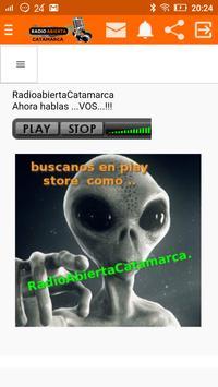 RADIO ABIERTA CATAMARCA screenshot 1