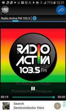 Activa FM 103.5 screenshot 1