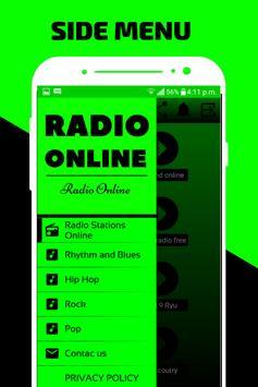 107.6 FM Radio Stations Online App Free poster
