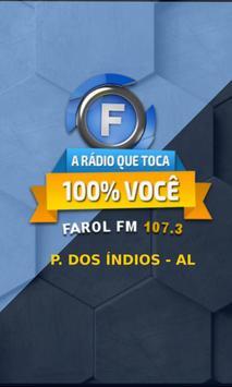 Rádio Farol FM 107,3 poster