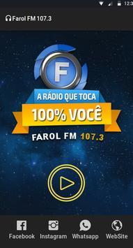 Rádio Farol FM 107,3 screenshot 1